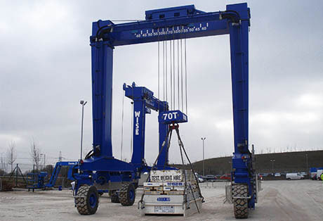 Industrial Straddle Hoist, Mobile Gantry Crane