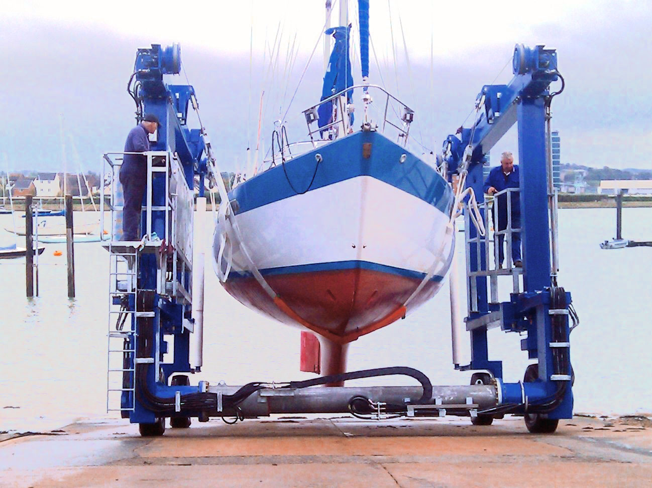 Slipway Hoists Self Powered For Increased Efficiency And